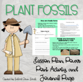 Plant Fossils- Learn and Make Your Own Fossil Activity