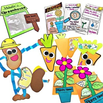 Plants, Plant Activities, Parts of a Plant, Plant Life Cycle | Plant Fun