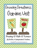 Plant & Garden Unit - Reading, Math & Science {Growing Greatness}