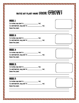 Plant Growth Activities