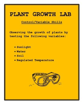 Plant Growth Lab: Controls and Variables