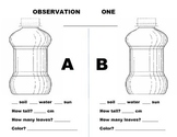 Plant Growth Lab: Observation Record Lab Booklet