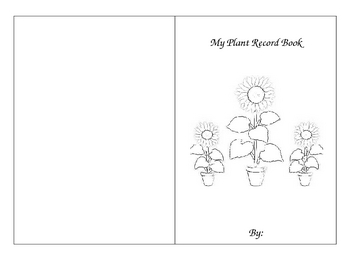 Plant Growth Record Book