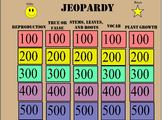 Plant Growth and Reproduction Jeopardy Review Game