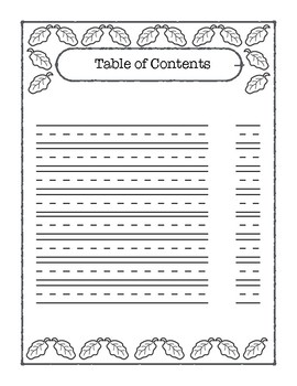 Plant Informational Report Template