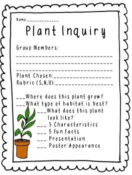 Plant Inquiry
