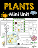 Plant Inquiry Unit- Kindergarten- Life Cycle- Parts of a Flower