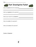 Plant Investigation Packet