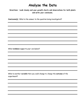 Plant Investigation Packet
