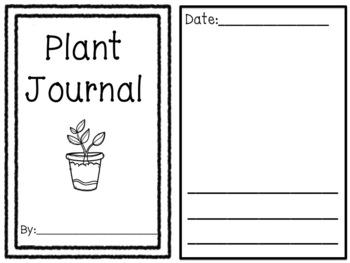 Plant Journal {Freebie}