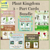 Plant Kingdom 3 - Part Reading Cards Bundle