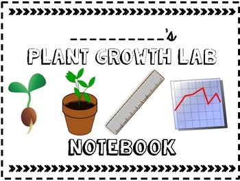 Plant Lab Notebook Cover