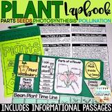 Plants Lapbook & Passages | Plant Life Cycle | Parts of a Plant | Plant Activity