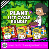 Plant Life Cycle Activities BUNDLE (Plant Life Cycle Crafts)