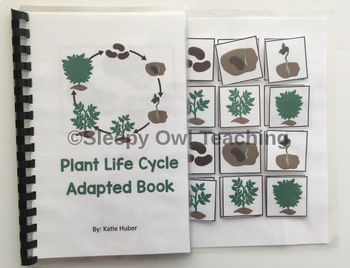 Plant Life Cycle Adapted Book