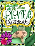 Plant Life Cycle Craftivity ~ French ~ Le cycle de vie d'une plante