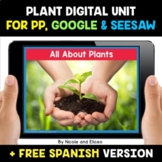 Plant Life Cycle Digital Activities for Google and Seesaw