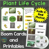 Plant Life Cycle Digital Boom Cards & Printable Pages Real