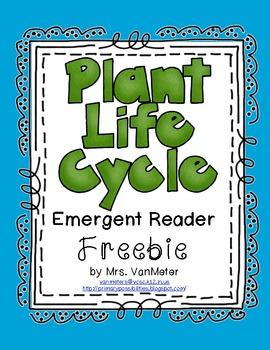Plant Life Cycle Emergent Reader (Freebie)