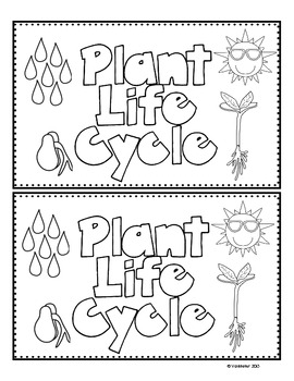 Plant Life Cycle Emergent Reader (Freebie) by Mrs VanMeter ...