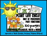 Plant Life Cycle, Functions, Processes, Parts w/ Math and More
