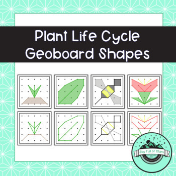 Plant Life Cycle Geoboard Task Cards