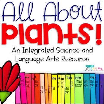 Plant Life Cycle NO PREP Activity & Mini - Book