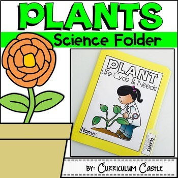Plant Life Cycle & Needs Science Activities Folder