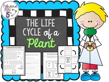Plant Life Cycle: Nonfiction Passage and Interactive Noteb