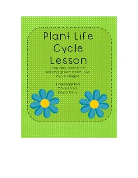 Plant Life Cycle Stages Lesson