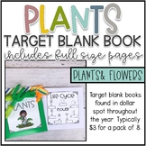 Plant Life Cycle Target Blank Books
