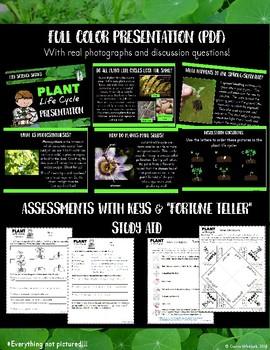 Plant Life Cycle Unit Bundle - Life Science Series
