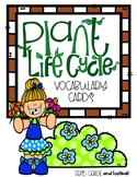 Plant Life Cycle Vocabulary Cards