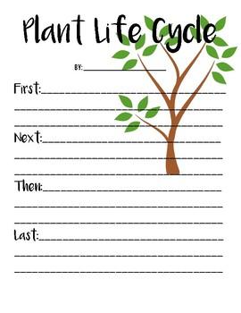 Plant Life Cycle Writing