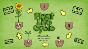 Plant Life Cycle and more! (Common Core Aligned)