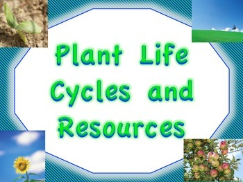 Plant Life Cycles and Resources