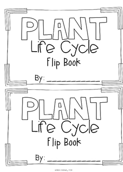 Plant Life Cyle [Vocabulary Flip Books]