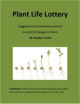 Plants Unit - Plant Life Lottery