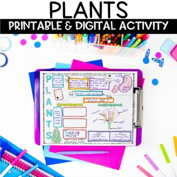 Plant Life Nonfiction Guided Reading Article and Activity