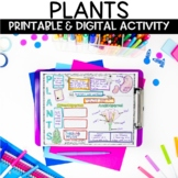 Plant Parts and Needs Print and Digital Activity