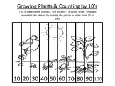 Plant Lifecycle & Counting by 10's