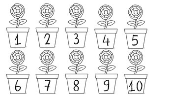 Plant Literacy and Math Centers