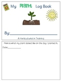 Plant Log Book & Activities