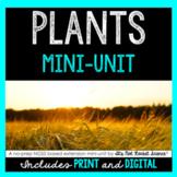 Plants Mini-Unit - Distance Learning Compatible