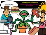 Plant Monster Clip Art Pack