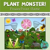 Plant Monster! digital game for TELETHERAPY, speech therapy, categories, vocab