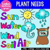 Plant Needs {Clip Art for Teachers}