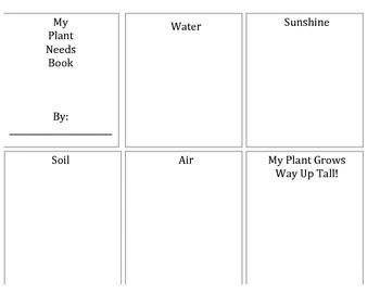 Plant Needs Flipbook