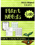 Plant Needs Lab- NGSS 2.LS2-1