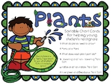 Plant Needs, Parts, and Characteristics Experiment and Sort Cards (Virginia)